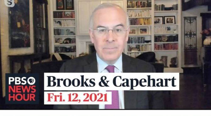 Political News: 'Brooks & Capehart' On Trump's Impeachment Trial (Video)