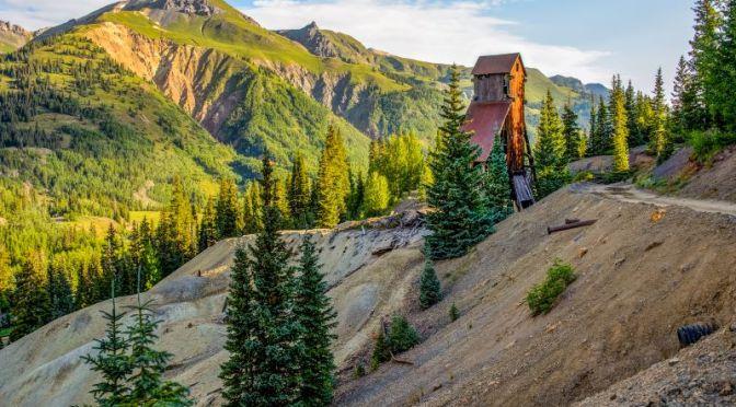 Hiking Tours: 'Mining Town Ouray In San Juan Mountains, Colorado'