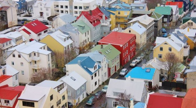 Buildings: The 'Ironclads' Of Reykjavik, Iceland