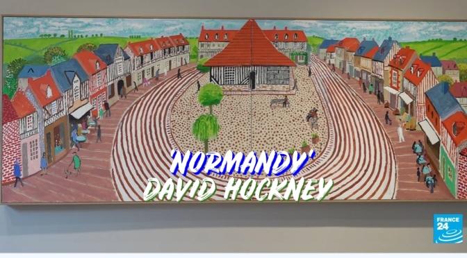 Gallery Views: 'Normandy' – The Lockdown Paintings Of David Hockney In Paris