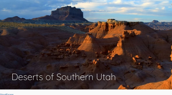 Aerial Travel: 'Deserts Of Southern Utah' (Video)