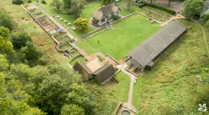 Archaeology: Chedworth Roman Villa In England