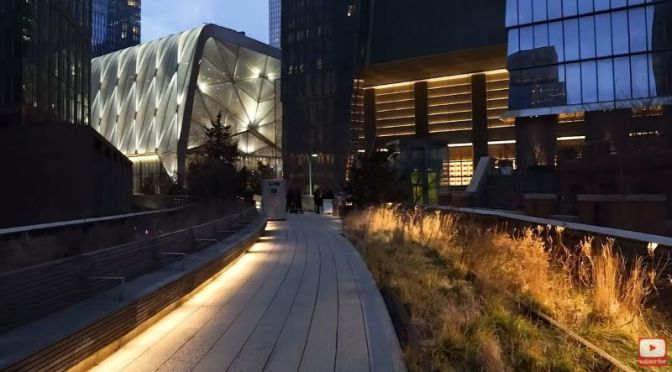 Evening Walks: The High Line To Hudson Yards, NYC