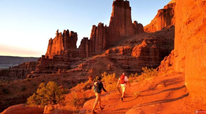 Trail Hikes: 'Fisher Towers' – Southern Utah (Video)