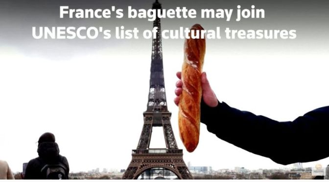 Culinary Arts: Baguette As Cultural Treasure (Video)