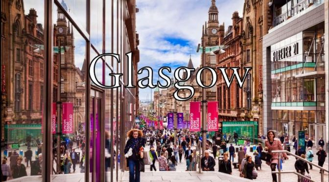 City Walks: 'Glasgow – Scotland' (4K Video)