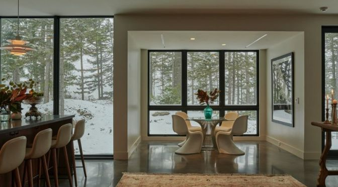 Homes With Views: 'A Cabin In Northern Maine' (Video)