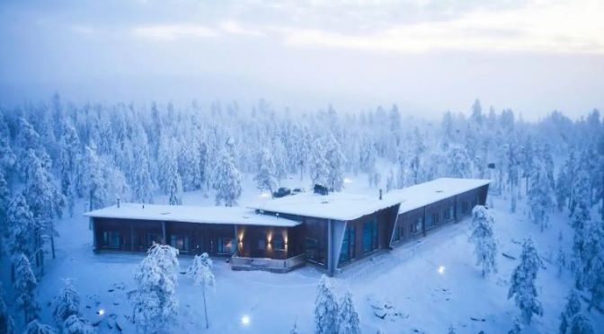Views: 'Octola Lodge & Private Wilderness' In Lapland, Finland (Video)