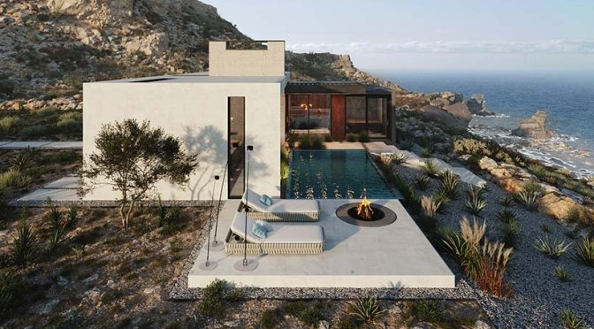 Views: 'House On A Cliff' In Algarve, Portugal By Kerimov Architects