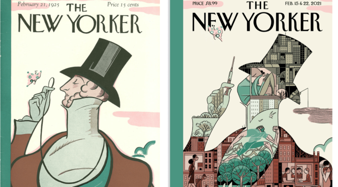 Illustrations: 'The New Yorker Cover' (1925-2020)