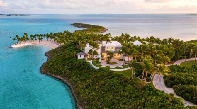 "West Indies Estate Tour: ""L'ile d'Anges"" On A Private Island, Exumas, Bahamas"