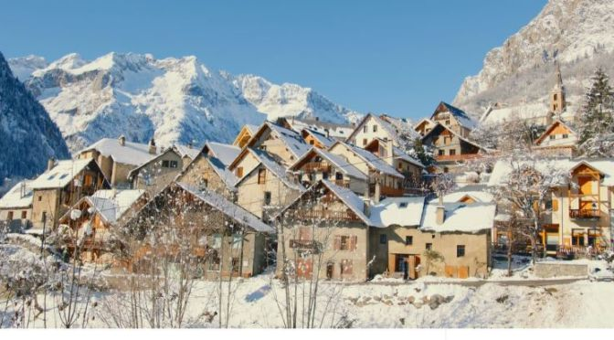Views: 'Winter In The French Alps' (Video)