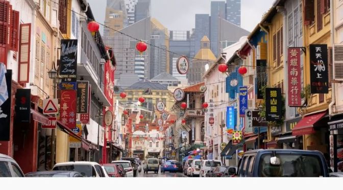 Travel Tour: The Streets & Landmarks Of Singapore