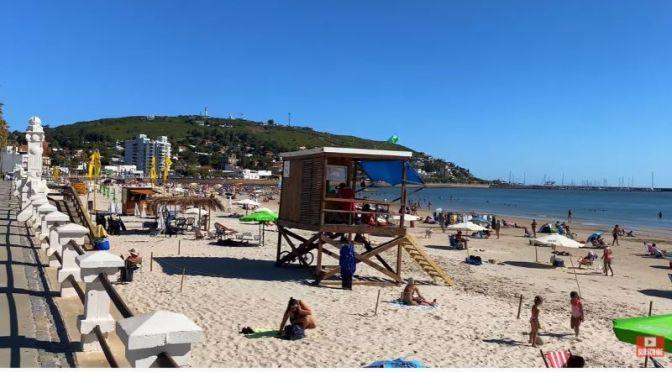Summer Beach Walks: 'Piriápolis' In Uruguay