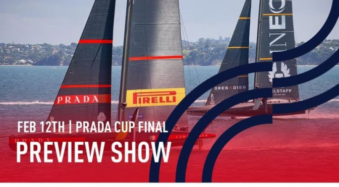Sailboat Racing: 'Luna Rossa Italy vs INEOS Team UK' In 2021 Prada Cup Final