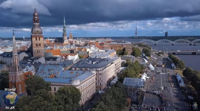 Travel Tour: 'Riga – Capital Of Latvia' (4K UHD Video)