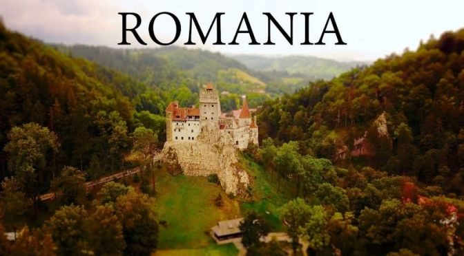 Tilt-Shift Views: 'Romania – Cities & Castles' (4K Video)