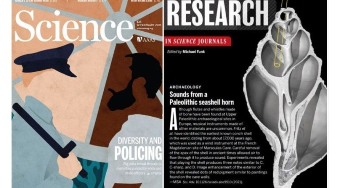 TOP JOURNALS: RESEARCH HIGHLIGHTS FROM SCIENCE MAGAZINE (FEB 12, 2021)