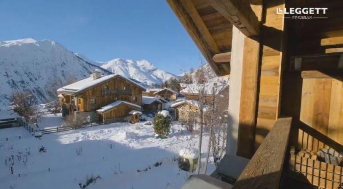 Ski Chalets: 'Villarabout – French Alps' (Video)