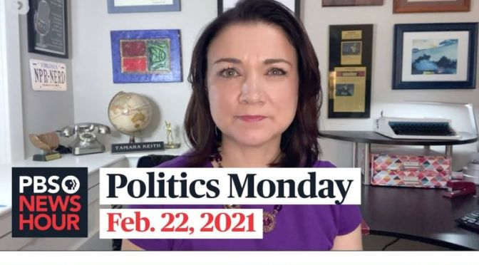 Politics Monday: Tamara Keith And Amy Walter On Trump, Covid RElief Bill