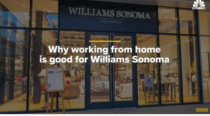 Business Analysis: 'Work From Home' & The Rise Of Williams Sonoma (Video)