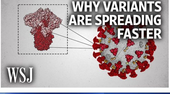 Covid-19: 'Why Variants Are Spreading Faster'