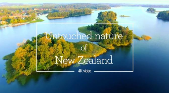 Aerial Views:  Untouched Nature Of New Zealand