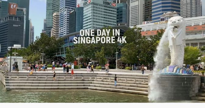 City-State Views: 'One Day In Singapore' (4K Video)