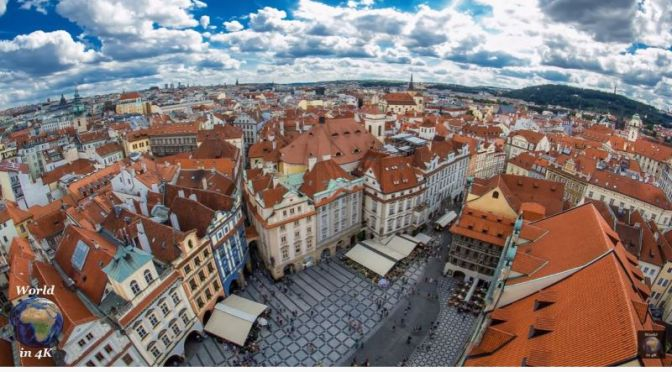 Aerial Views: 'Prague – Czech Republic' (Video)