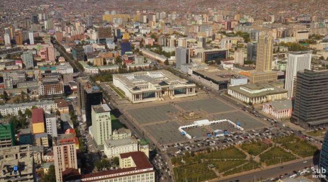 Aerial Views: Ulaanbaatar – Capital Of Mongolia (4K)