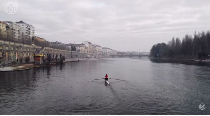 Outdoor Sports: 'Urban Rowers On The River Po In Turin, Italy' (Video)