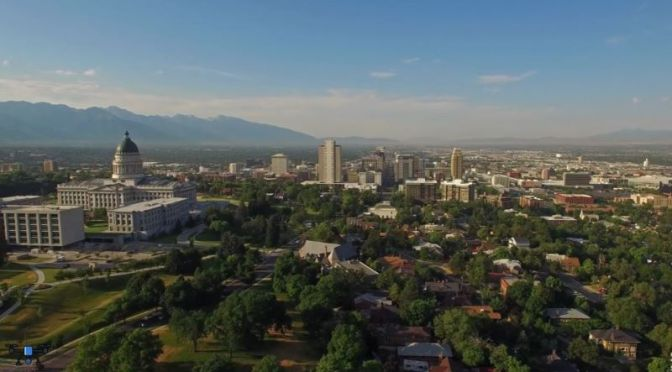 Aerial Views: 'Utah – Cities & Landscape' (4K Video)