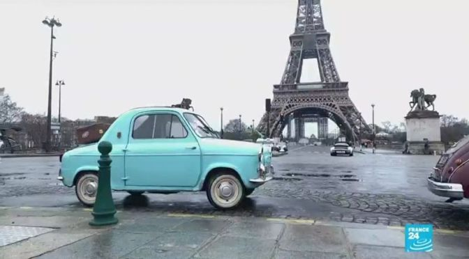 Vintage Views: Classic Car Rally, Paris, France (Video)