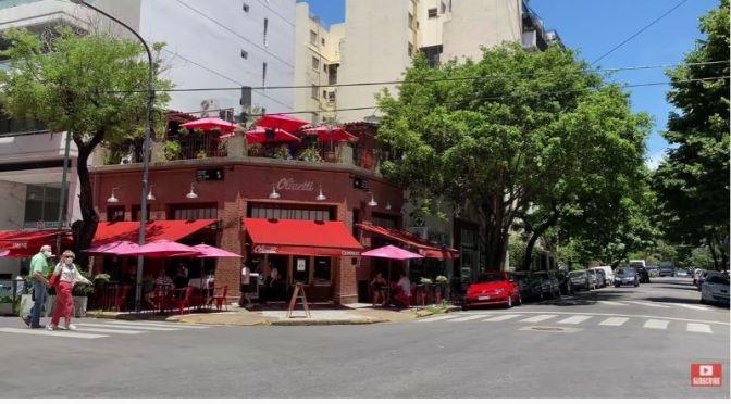 Walks: Palermo Area In Buenos Aires, Argentina