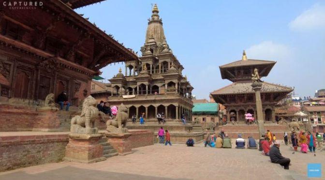 Walking Tour: 'Lalitpur' (Patan) In Nepal (4K Video)
