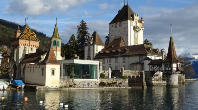 Walks: 'Oberhofen am Thunersee' In Switzerland