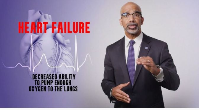 Heart Failure: 'What Is It & How To Treat It' (Video)