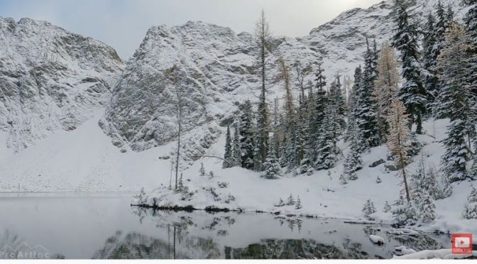 Winter Forest Hikes: 'Blue Lake Trail' In The Cascade Mountains, Washington