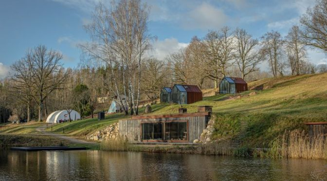 Travel & Architecture: 'Ziedlejas Resort, Latvia'