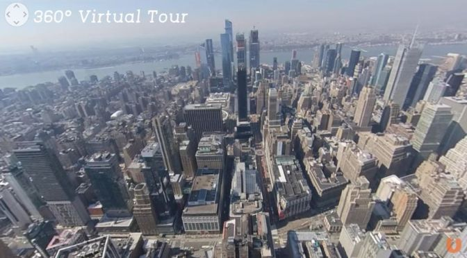 360° Virtual Tour: Empire State Building, New York