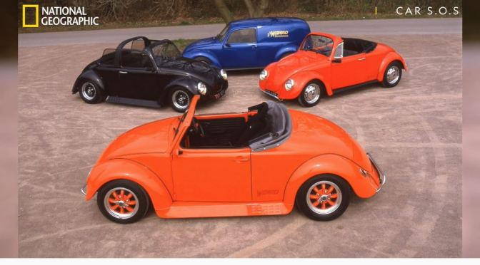 1980's View: History Of The VW Beetle Wizzard (Video)