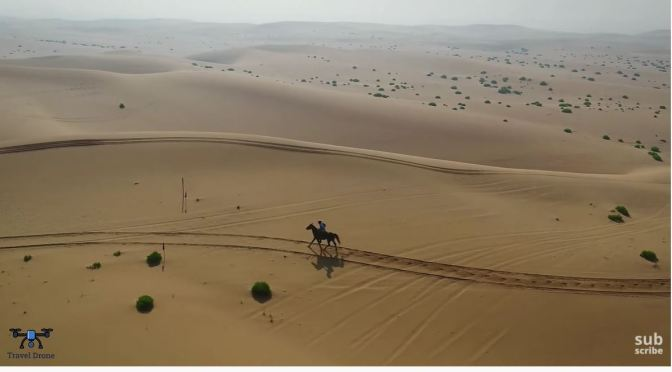 Views: The 'Massive Dunes' Of The Abu Dhabi Desert
