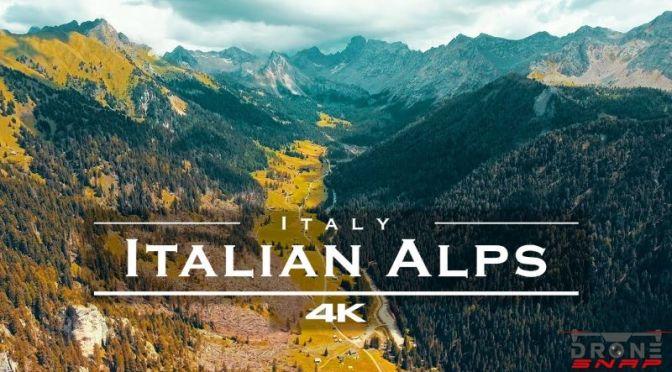 Aerial Views: 'Italian Alps In South Tyrol' (4K Video)