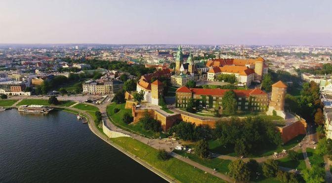 Aerial City Views: 'Kraków – Southern Poland' (4K)