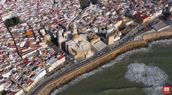 Aerial Views: 'Cádiz' In Southwestern Spain