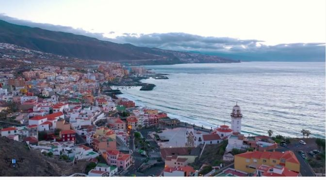 Aerial Views: 'Candelaria – Tenerife, Canary Islands'