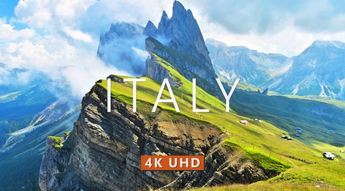 Aerial Views: 'The Cities & Landscapes Of Italy' (4K)