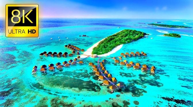 Tropical Views: Maldives – Arabian Sea (8K UHD Video)