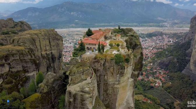 Aerial Views: 'Meteora Monasteries – Greece' (4K)
