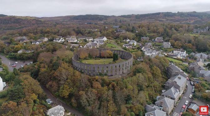 Aerial Views: 'Oban – Western Scotland'